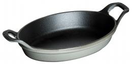 Staub Kochgeschirr Mini Auflaufform oval Graphitgrau 15 cm