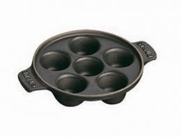 Staub Schneckenpfanne 14 cm schwarz