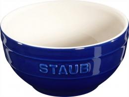 Staub Keramik Schale Schüssel Desertschale, klein dunkelblau 12 cm Ceramic