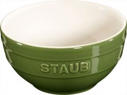 Staub Keramik Schale Schüssel Desertschale, klein basilikumgrün 12 cm Ceramic