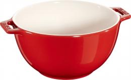 Staub Keramik Salatschüssel Obstschüssel Schüssel kirsche 18 cm Ceramic