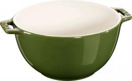 Staub Keramik Salatschüssel Obstschüssel Schüssel basilikumgrün 18 cm Ceramic