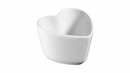 Staub Keramik XS 2er Set Mini Förmchen Ramekin Dessertschale Reinweiß 8 cm