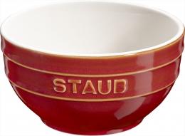 Staub Keramik Obstschüssel Servierschüssel Rührschüssel, rund Kupferrot 17 cm