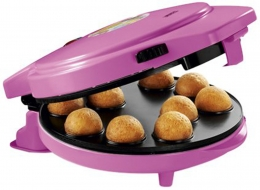 Princess 3-in-1 Magic Bakery Mini Herz Waffeleisen Donutmaker Pop Cake Maker