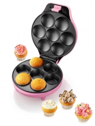 Petra CM 10.00 Rosa Cupcake Maker  Muffin-Maker Mini-Kuchen Muffins