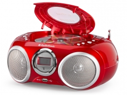 AudioSonic CD-570 CD Stereoradio (MP3, USB 2.0) rot