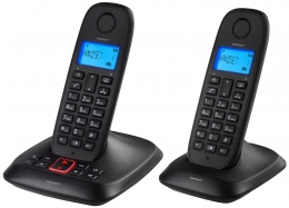 Topcom TE-5736 DECT-Telefon mit Anrufbeantworter (2-er Set)