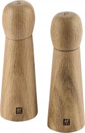 Zwilling Spices Sett Salzmühle und  Pfeffermühle Edlem Holz Gewürzmühle Mühle