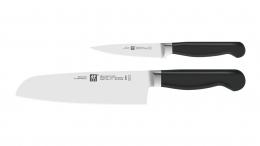 Zwilling Pure Messer Küchenmesser Messerset, 2-tlg. 420 x 95 mm