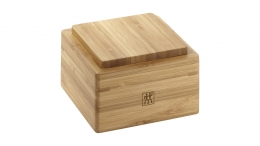 Zwilling Box 60 mm Bambus Vorratsdose Gewürzdose Salzdose Pfefferdose