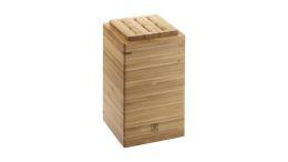 Zwilling Box 180 mm Bambus Vorratsdose Küchenutensilienhalter Messerblock
