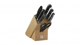 "Zwilling PROFESSIONAL ""S"" Messerblock, natur, 8-tlg."