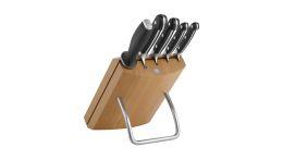 Zwilling® Pro Messerblock, natur, 6-tlg. Küchenmesser Messer Fleischmesser Kochmesser