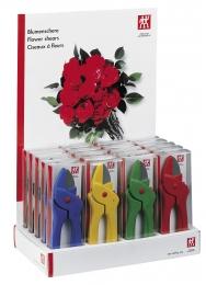 Zwilling Blumenschere  in farben  Rot