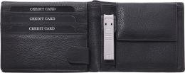 Zwilling TWINOX® Manicure Sets Portemonnaie Geldbörse Brieftasche mit Nagelknipser schwarz