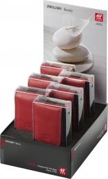 Zwilling 6 Etuis rot Classic Manicure Etui Maniküreset Nagelpflege Inox