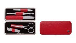 Zwilling Rahmen-Etui, 5tlg. Manicure TWINOX  hochwertigem Leder