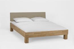 Massivholzbett Buche lackiert 140 x 200 cm Einzelbett Komfortbett Jugendbett