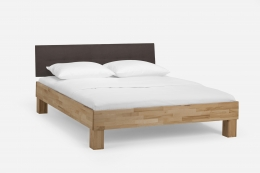 Massivholzbett Kernbuche geölt 120 x 200 cm Einzelbett Komfortbett Jugendbett